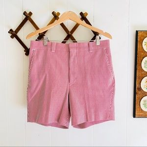 Vintage 1970s Levis Panatela Striped Shorts